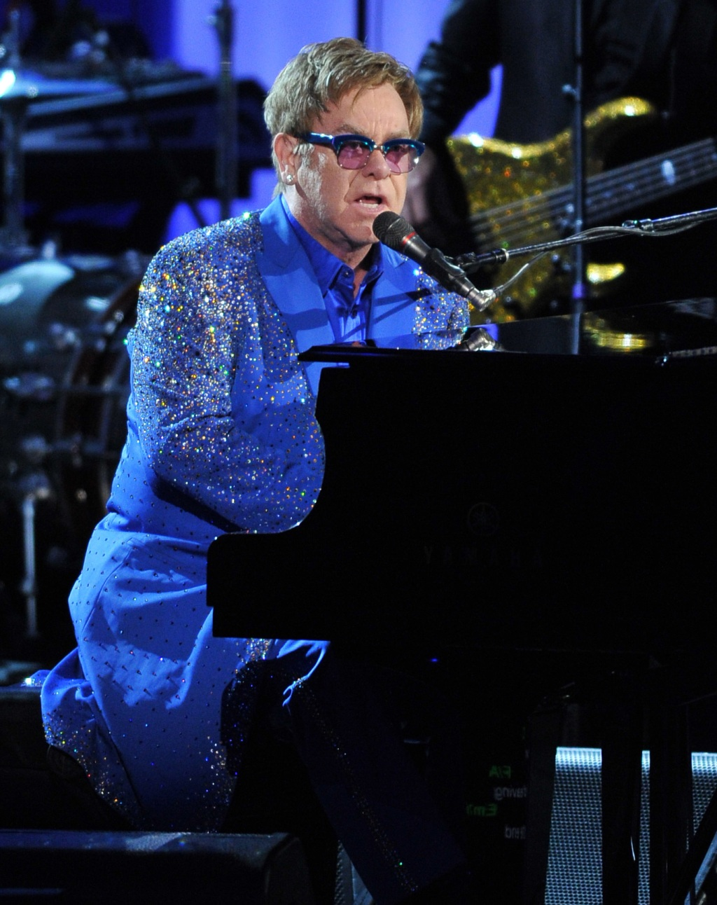 Elton John piano 2013 Emmy