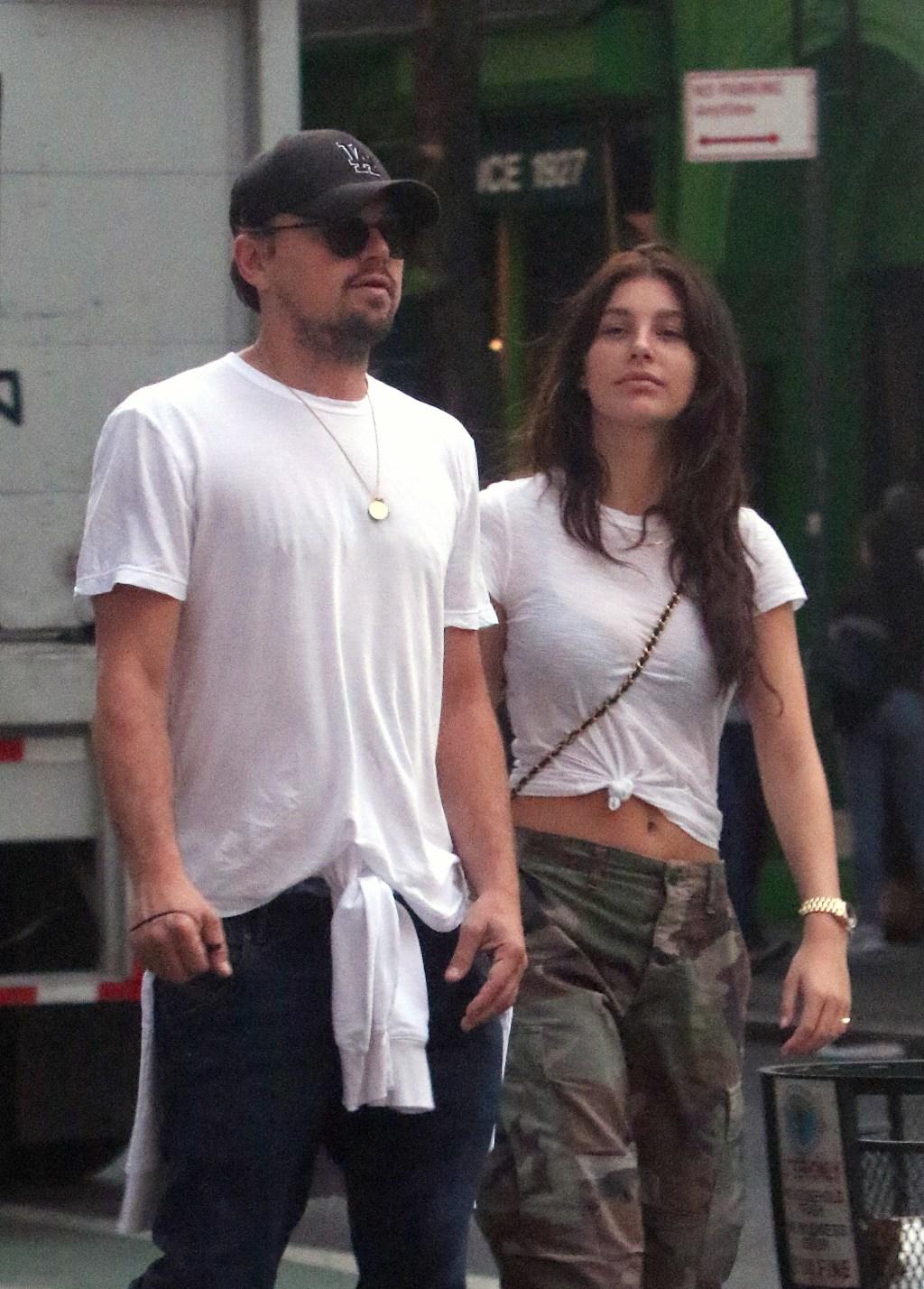 Leonardo DiCaprio, girlfriend Camila Morrone