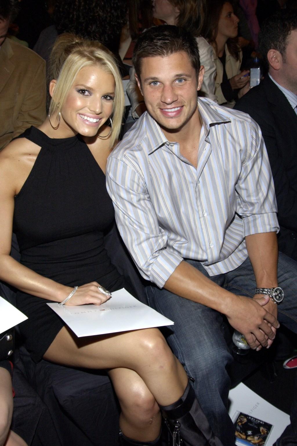 Jessica Simpson, ex husband Nick Lachey
