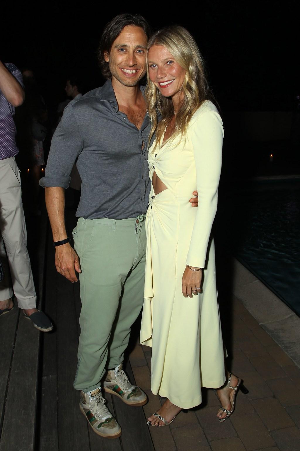 Gwyneth Paltrow, husband Brad Falchuk