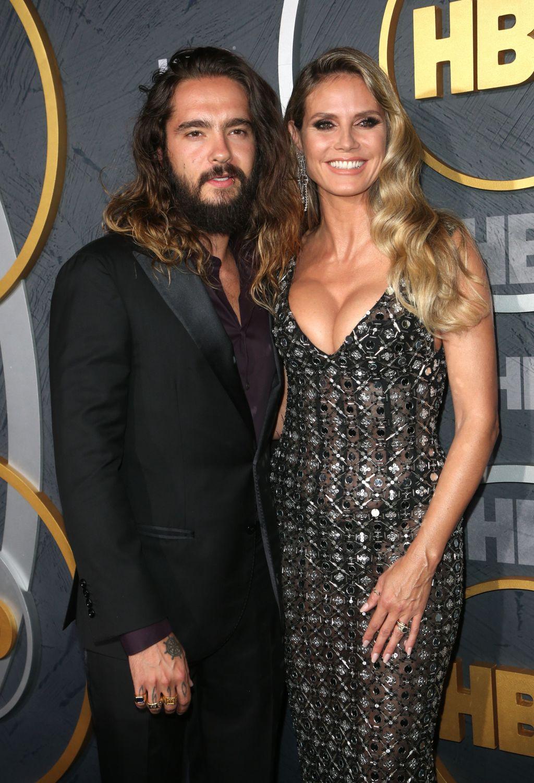 Heidi Klum, husband Tom Kaulitz