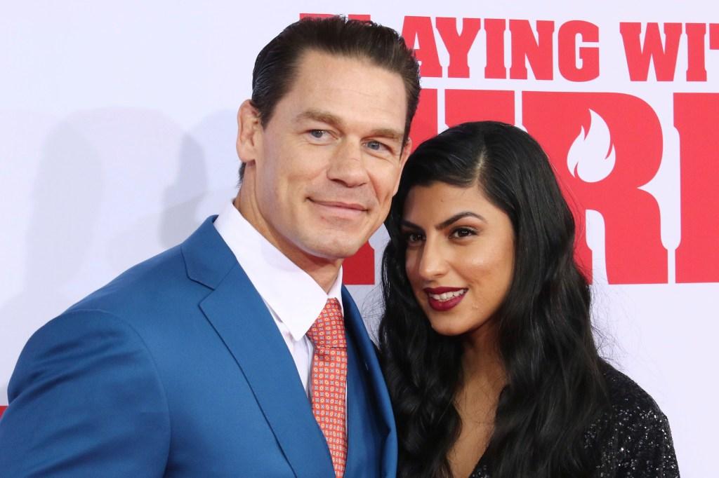 John Cena, girlfriend Shay Shariatzadeh