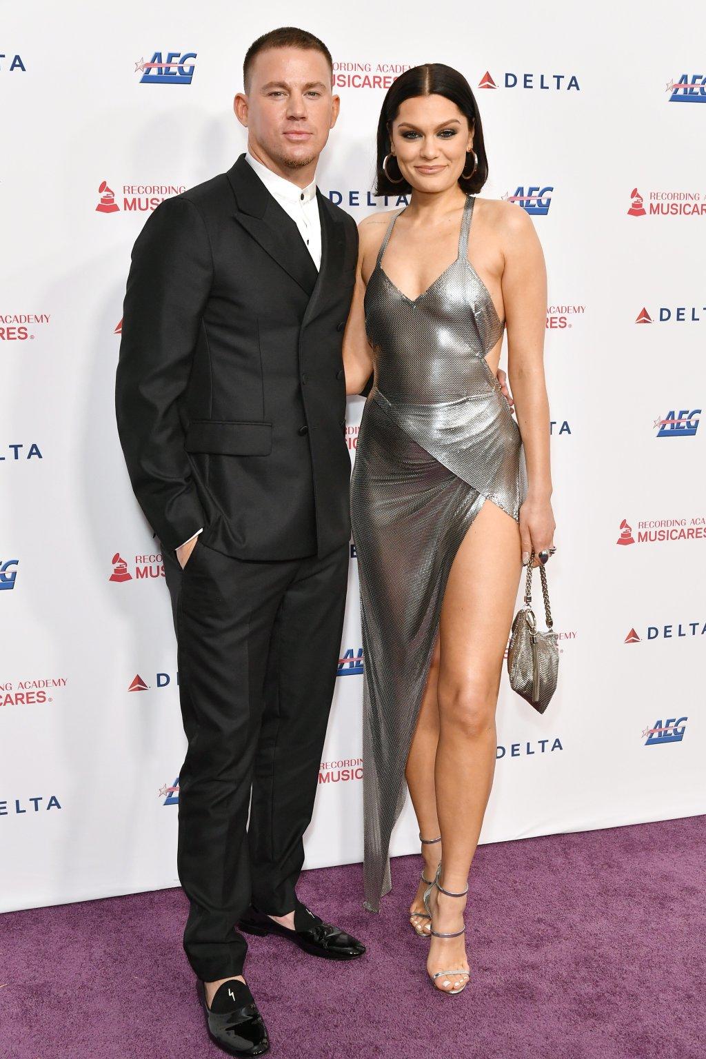 Channing Tatum, girlfriend Jessie J