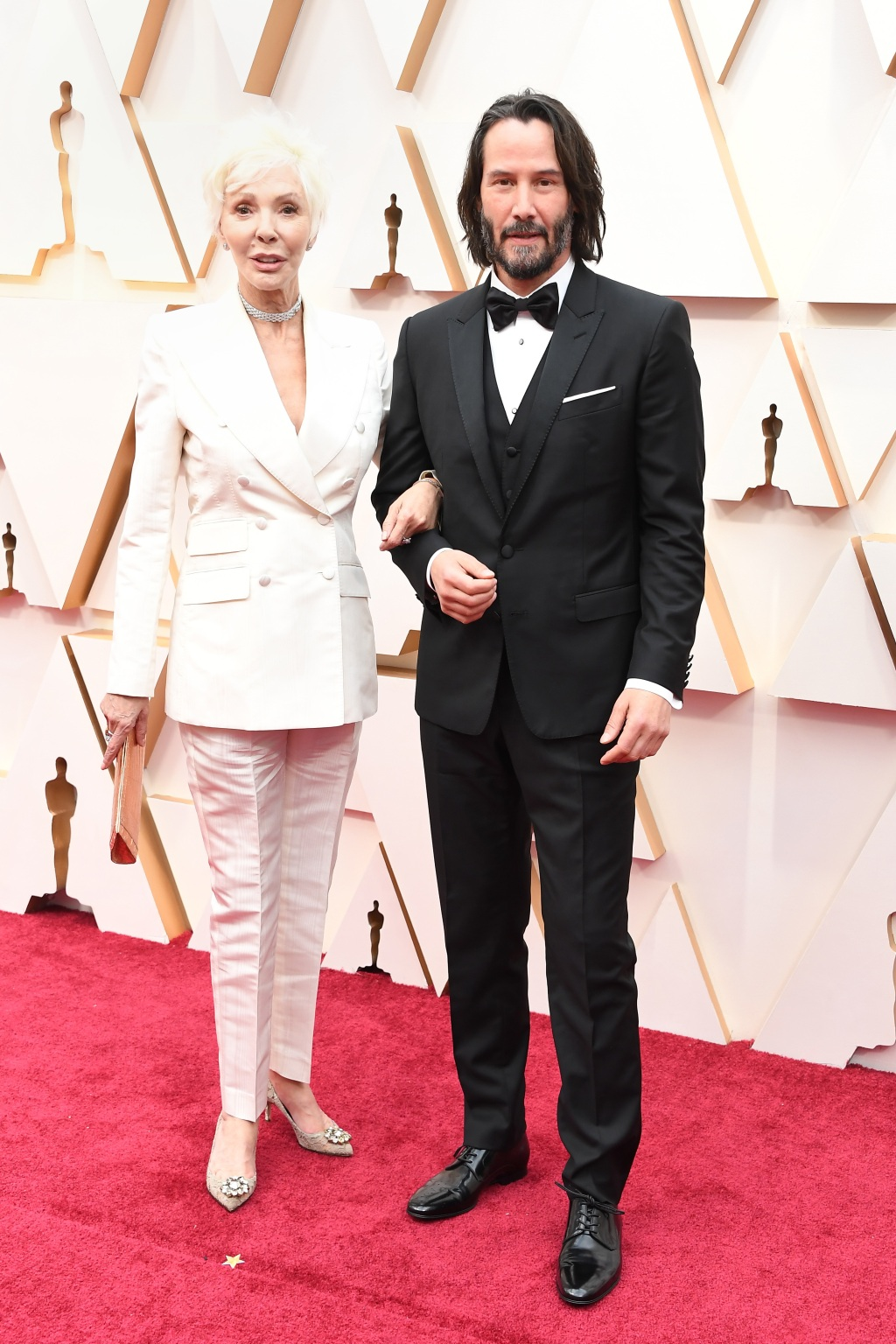 Keanu Reeves, mother Patricia Taylor