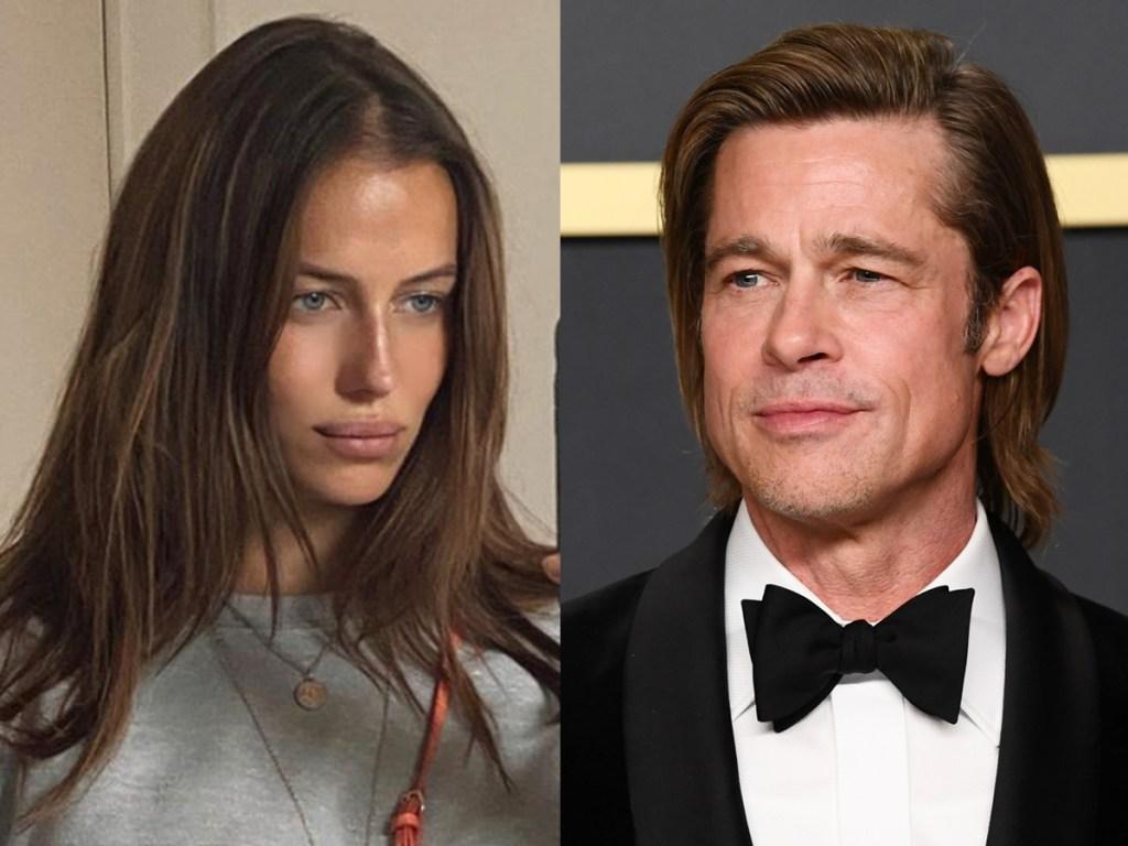 Nicole Poturalski, Brad Pitt split