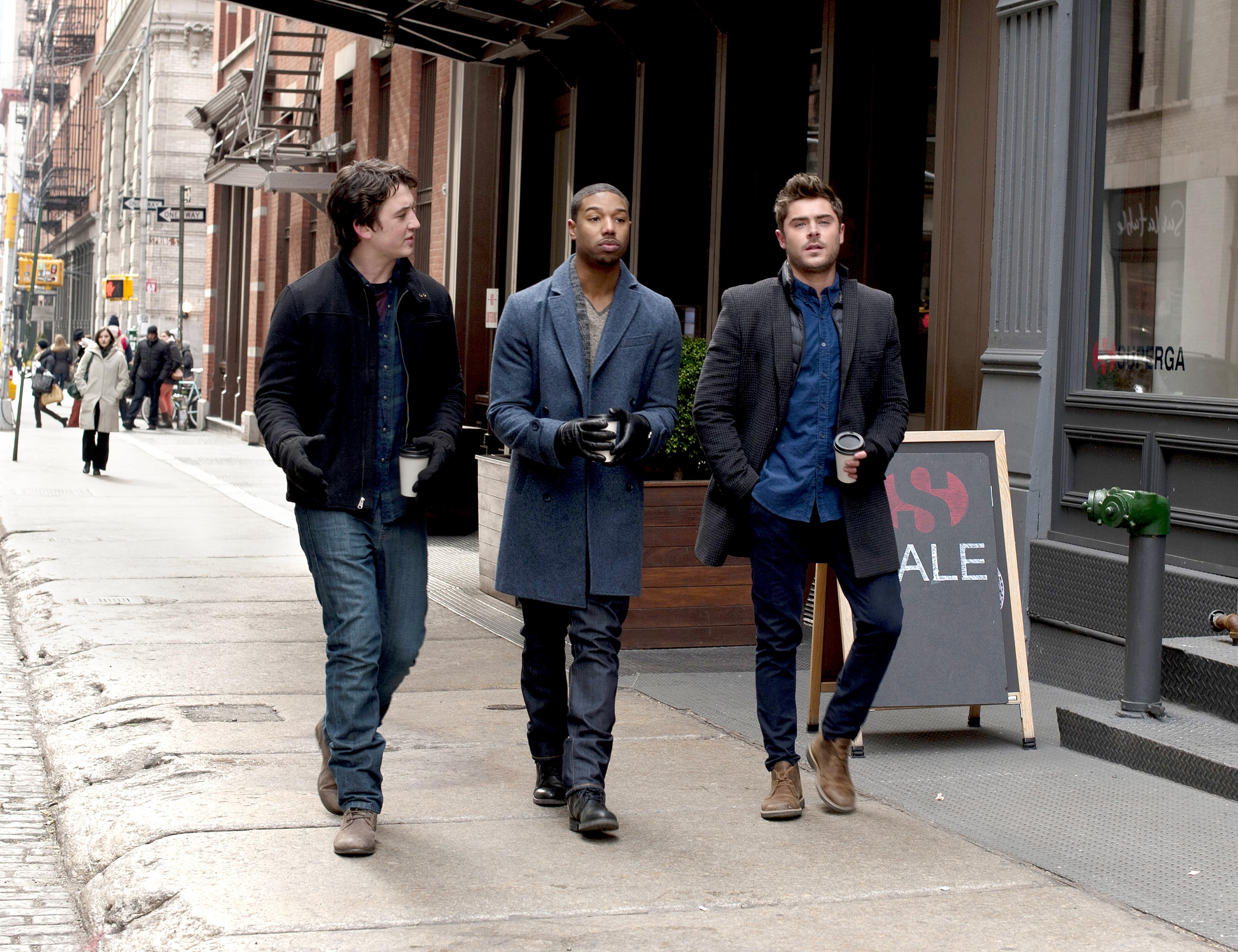Miles Teller, Michael B. Jordan, Zac Efron, That Awkward Moment