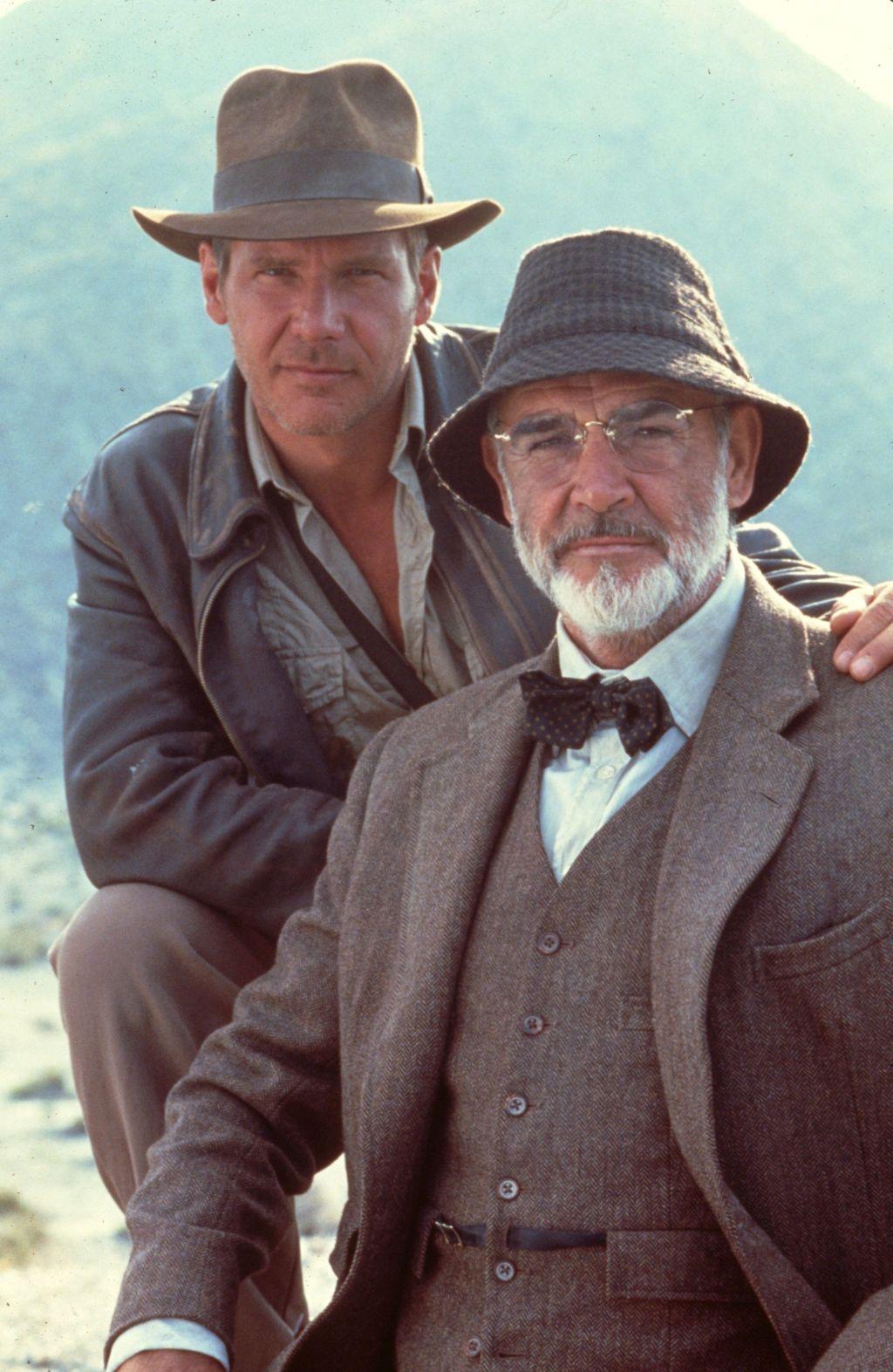Harrison Ford, Sean Connery, Indiana Jones