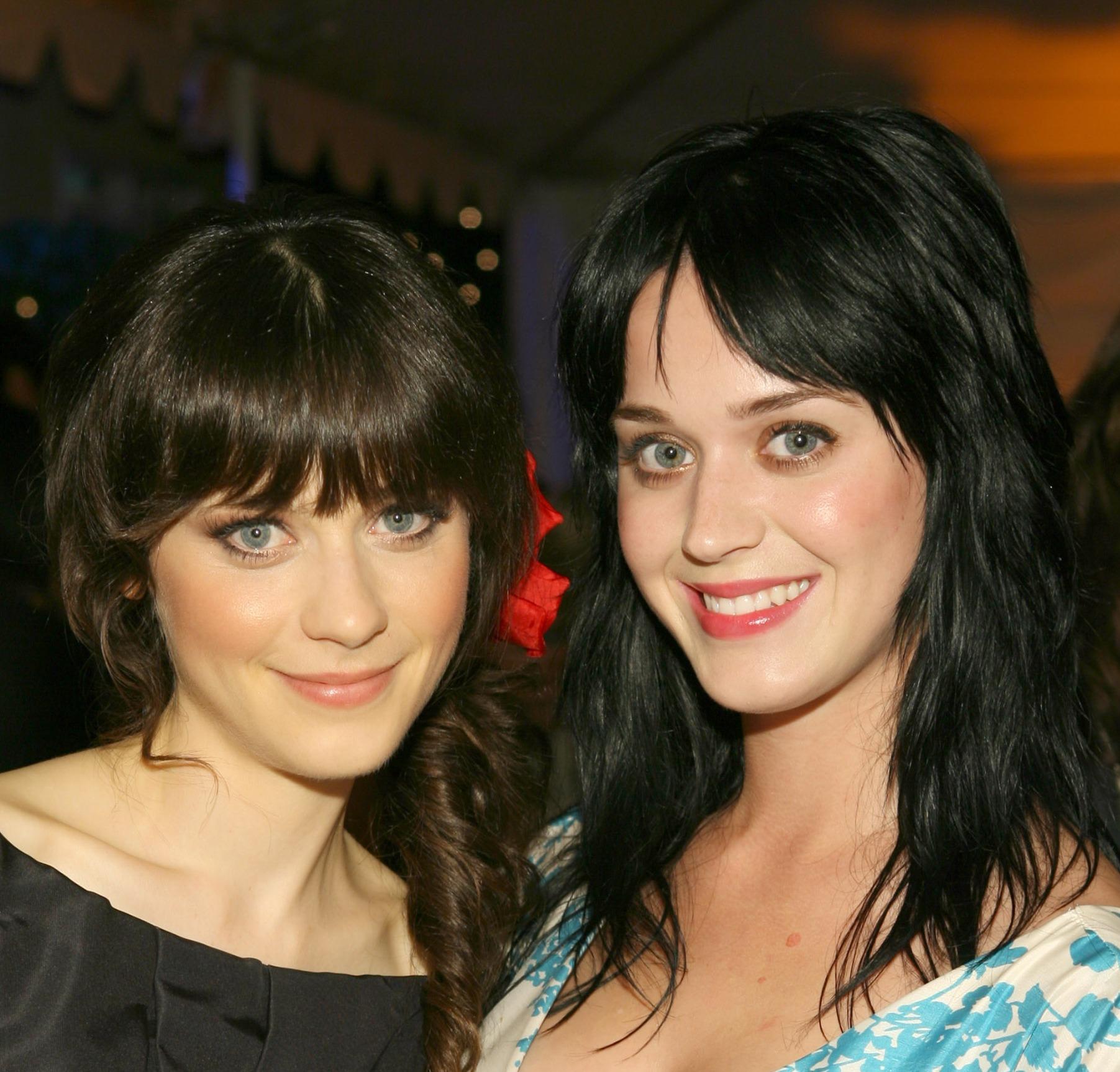 Zooey Deschanel Katy Perry