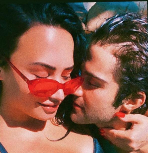 Demi Lovato, ex boyfriend Max Ehrich