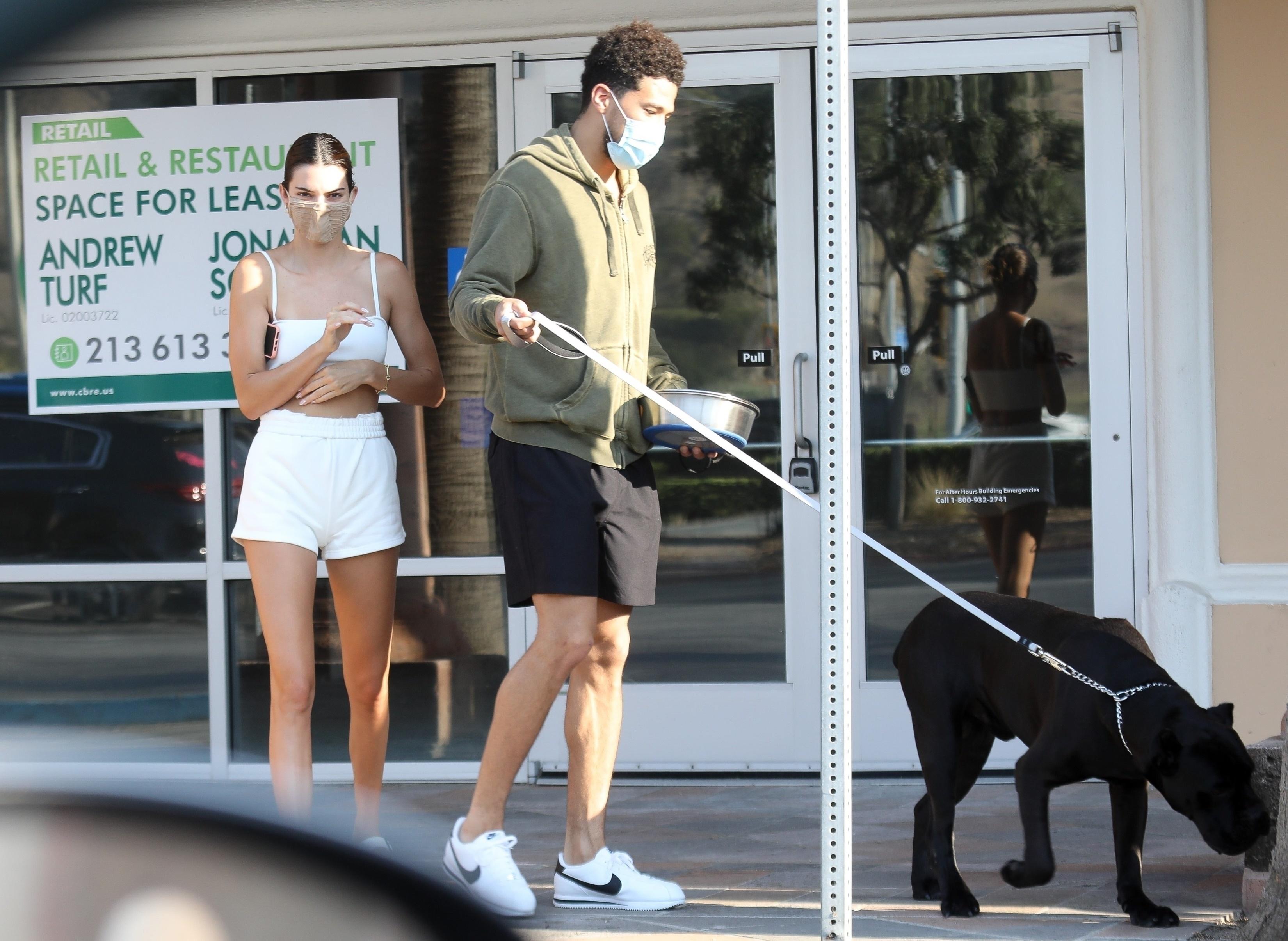 Kendall Jenner, boyfriend Devin Booker